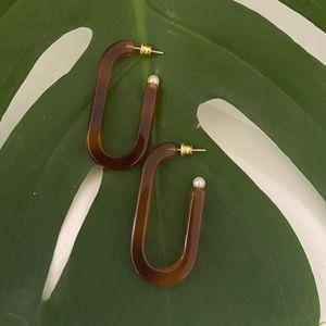 cute earrings with pearls
